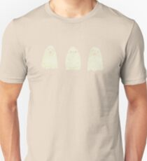 Three Spooky Ghosts Unisex T-Shirt