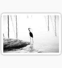 Heron Sticker