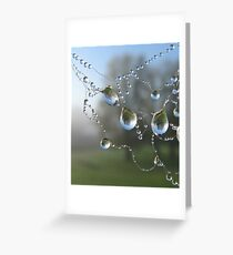 Pearls in autumn Greeting Card