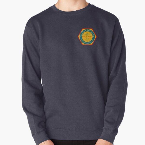 Jeffersonian Logo Pullover Sweatshirt