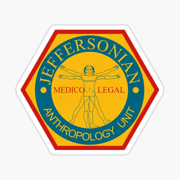 Jeffersonian Logo Sticker
