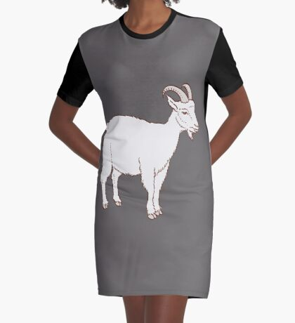 GOAT Graphic T-Shirt Dress