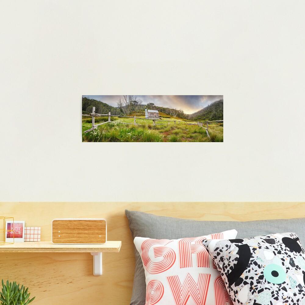 Silver Brumby Hut, Mt Hotham, Victoria, Australia Photographic Print