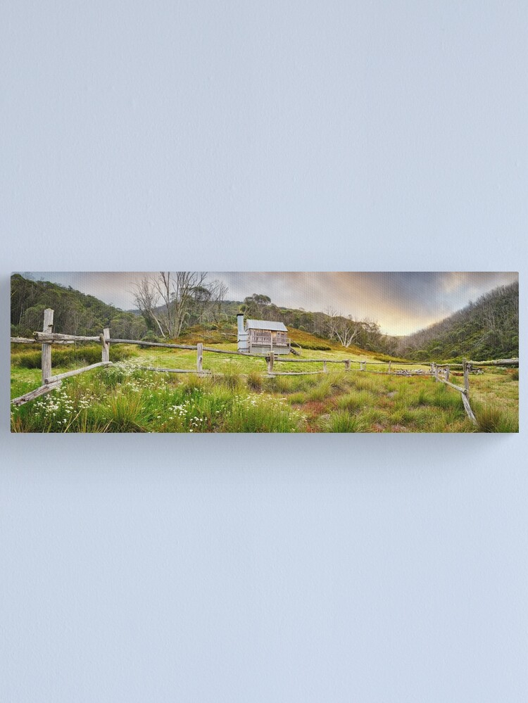 Alternate view of Silver Brumby Hut, Mt Hotham, Victoria, Australia Canvas Print