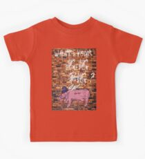 What's Your Gig Pig? - wall Kids Clothes