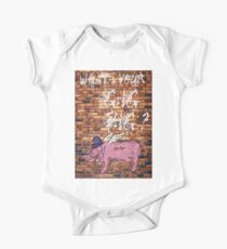 What's Your Gig Pig? - wall One Piece - Short Sleeve