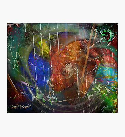 Web of Collective Unconsciousness Photographic Print