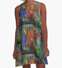 Web of Collective Unconsciousness A-Line Dress