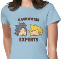 Backwater Experts! Womens Fitted T-Shirt