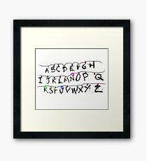 ABC Framed Print