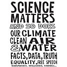 Science Matters, and so does our climate by jitterfly
