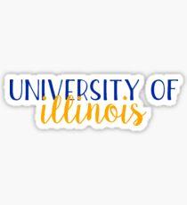 University of Illinois - Style 2 Sticker