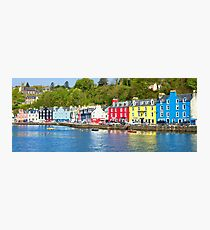 Colours of Tobermory Photographic Print