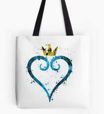 Kingdom Hearts Splatter Tote Bag