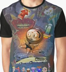 Ruffmouse World Graphic T-Shirt