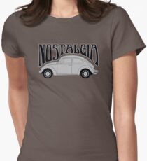 Nostagia - VW Beetle Womens Fitted T-Shirt