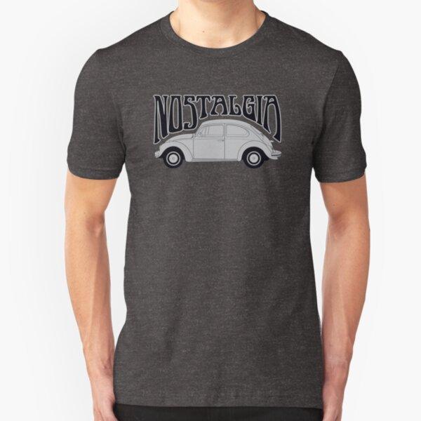 Nostagia - VW Beetle Slim Fit T-Shirt