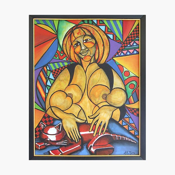 Madre amorosa (Loving mother) Photographic Print