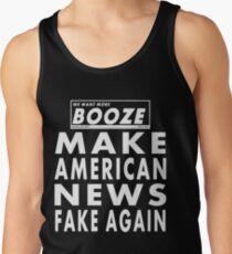 Machen Sie amerikanische Nachrichten wieder gefälscht Tank Top