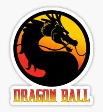 Dragon Ball Mortal Kombat Sticker