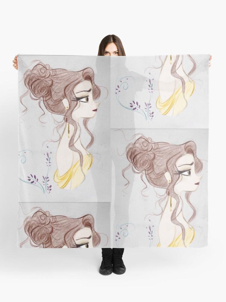 Schönheit Und Das Biest Die Schöne Magie Zeichnen Tuch Von Mariav4