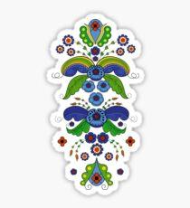 Folklore Brocade Sticker