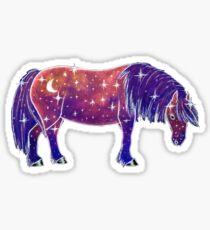 Pony of the Stars-Galaxy Version Sticker