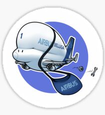 Beluga (Delivery Boy) Sticker