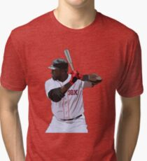 David Ortiz Red Sox Tri-blend T-Shirt