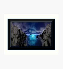 Moonlit Night Art Print