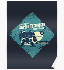 Adeptus Mechanicus - Dreadnaught Poster