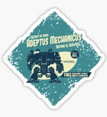 Adeptus Mechanicus - Dreadnaught Sticker