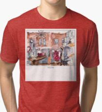 Cafe La Tazza Verdun Tri-blend T-Shirt