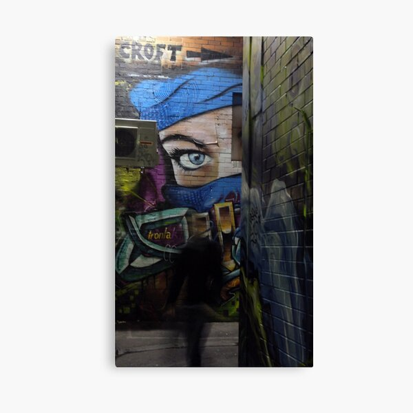 Ghost that walks Canvas Print