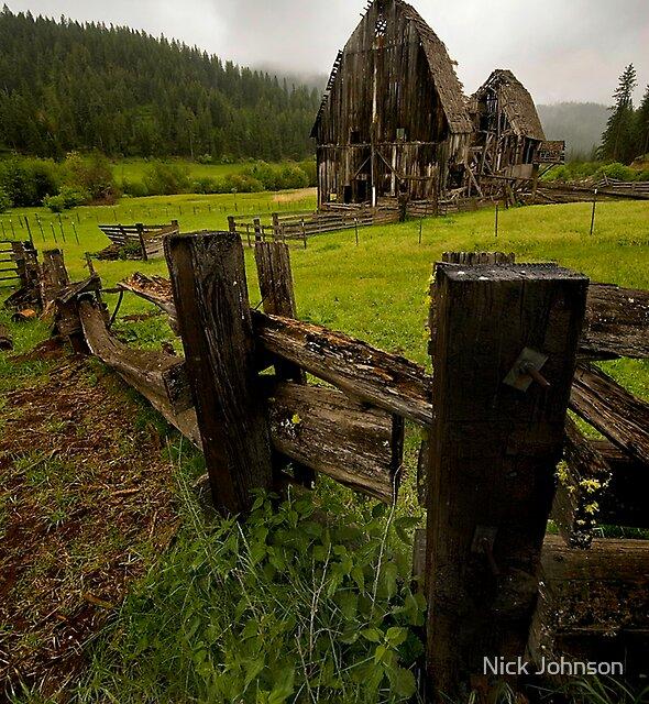 Mountain Farm by Nick Johnson