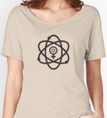 Women in Science. Science in Women Symbol  Women's Relaxed Fit T-Shirt