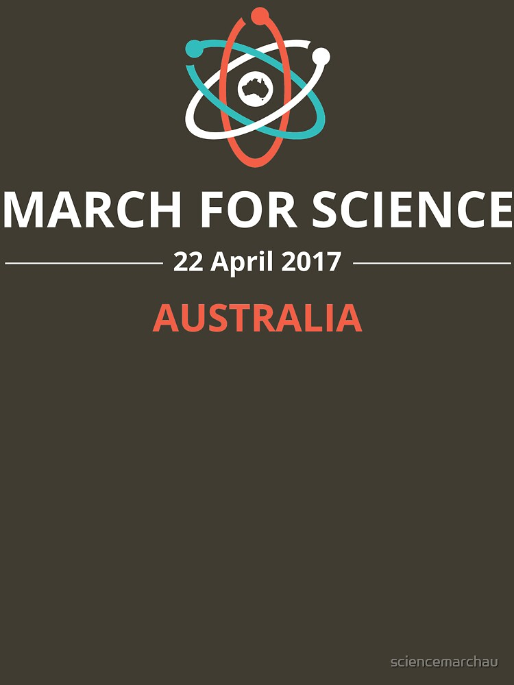 March for Science Australia logo - light | Unisex T-Shirt