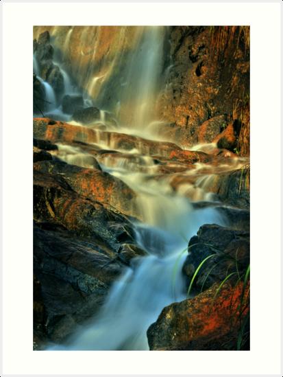 lesmurdie falls by alistair mcbride