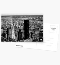 New York cityscape Postcards