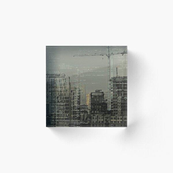 Escape Sequence Acrylic Block