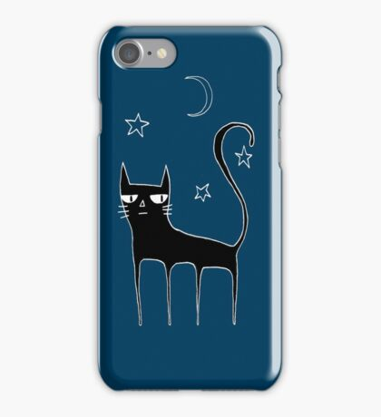 A Black Cat iPhone Case/Skin