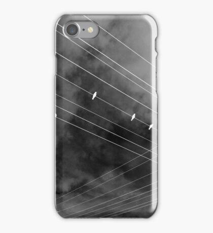 Crossed Lines iPhone Case/Skin