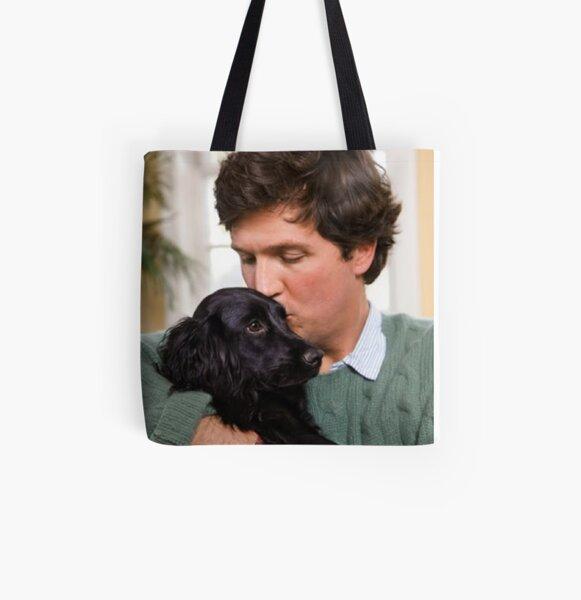 Tucker Carlson #18 All Over Print Tote Bag