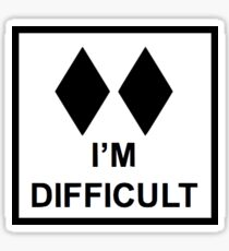 I'm Difficult Sticker