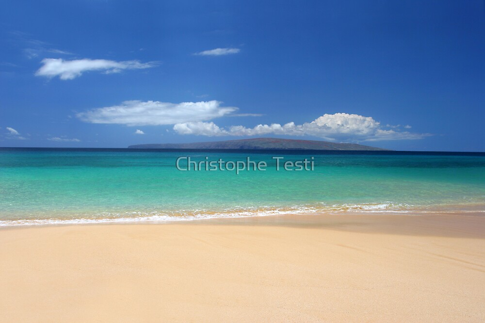 Makena Beach by Christophe Testi