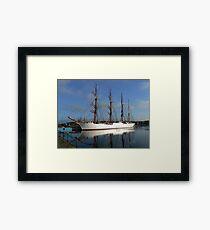 Russian Sail Training Ship Framed Print
