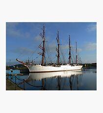 Russian Sail Training Ship Photographic Print