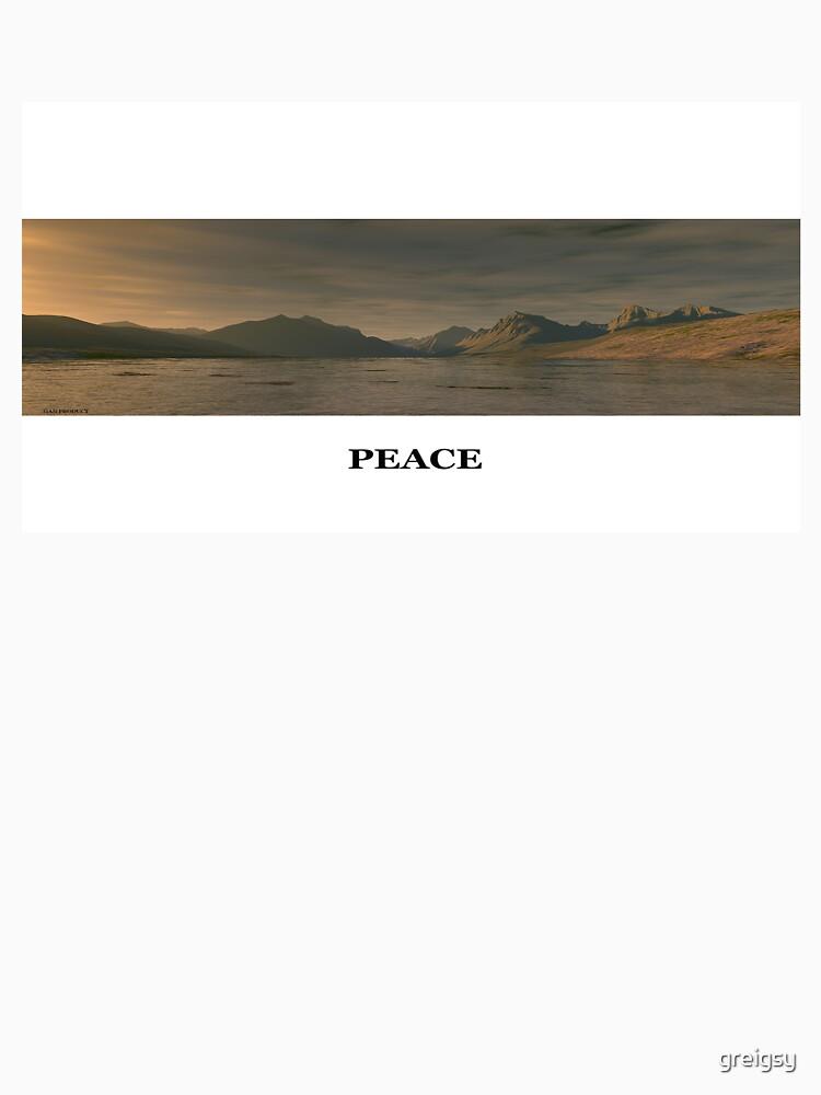 peace man  by greigsy
