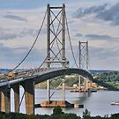 Forth Road Bridge 2 by Chris Clark