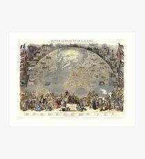 'Mer Libre. Le Tour du Monde en un Clin d'Oeil Art Print